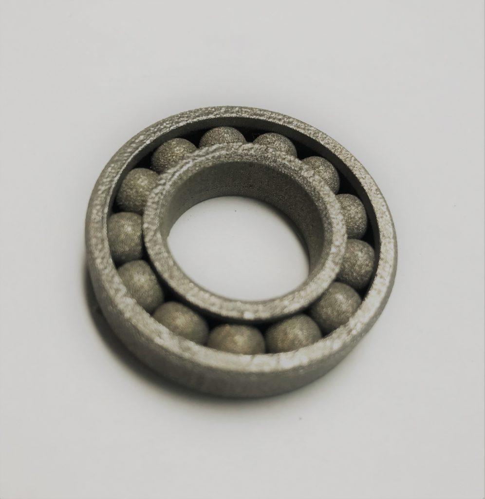 アンギュラベアリング造形サンプル(材質:SUS630)