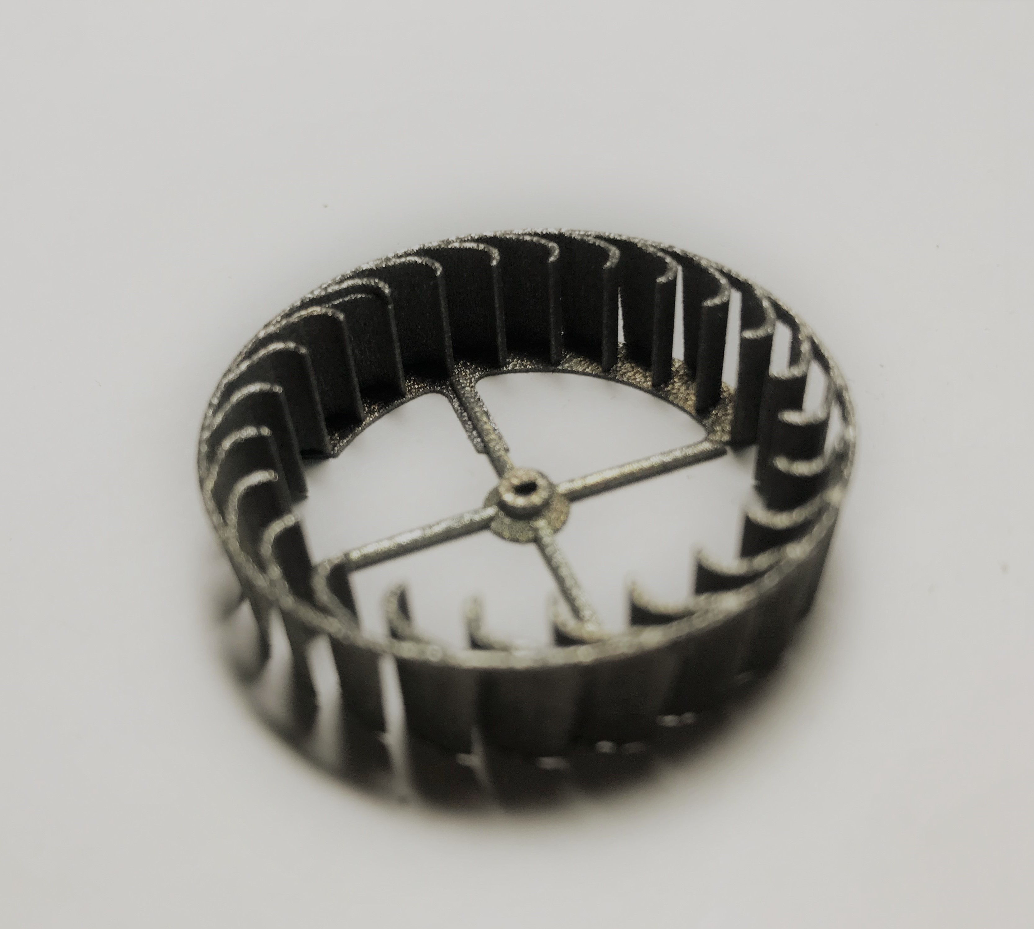 金属3Dプリンター造形ニードルゲージ