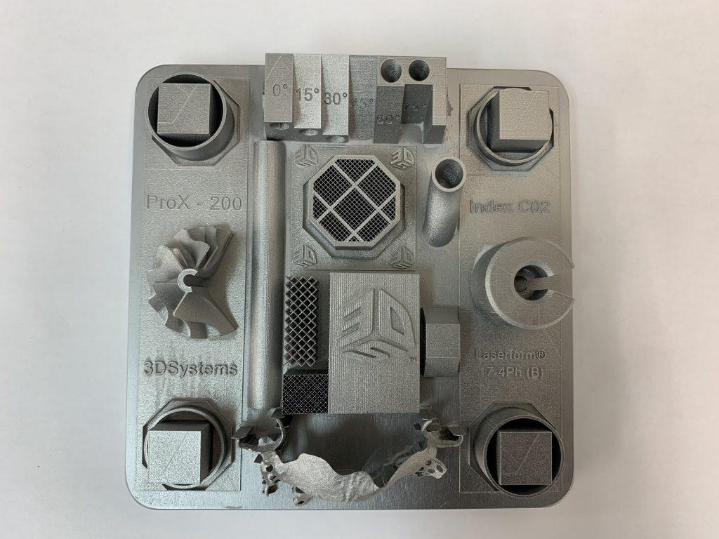 金属3Dプリンター性能確認サンプル(材質:SUS630)