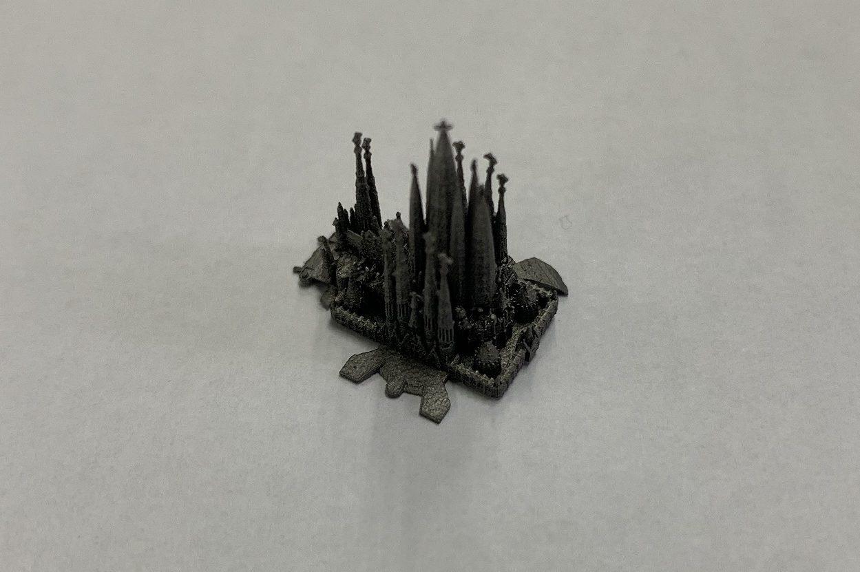 金属3Dで作成したサクラダ・ファミリア2